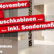 Im November 20 % auf PUK-Duschkabinen und PUK-Beratungstage in Oldenburg und Eutin