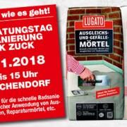 LUGATO Heimwerker Workshop Fliesen kleben 23.11.2018 in Eutin