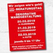 LUGATO Beratungstag Dekorative Wandgestaltung 2019